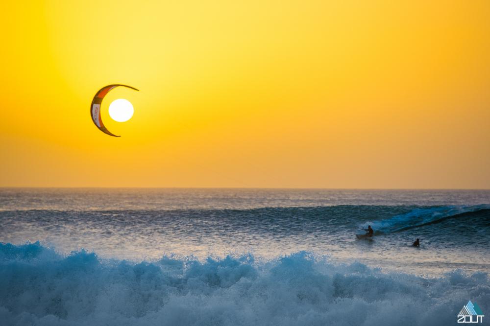 Kitesurfing Cape Verde Rein Rijke Zout Fotografie