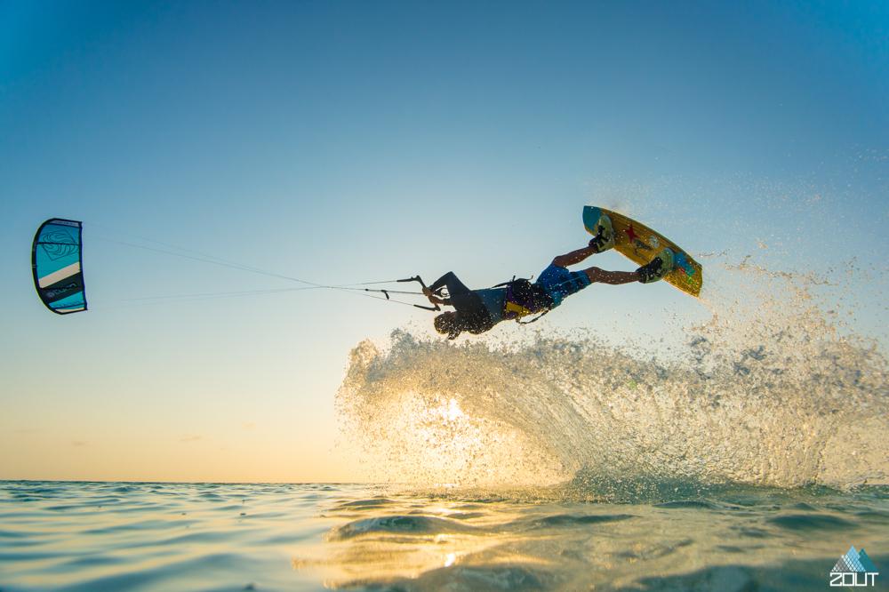 Kiteboarding Aruba Caribbean Zout Fotografie Rein Rijke