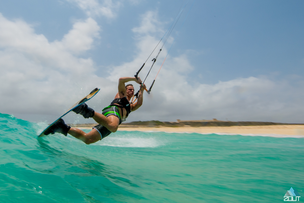 Kiteboarding Aruba Caribbean Zout Fotografie Willem van der Meij