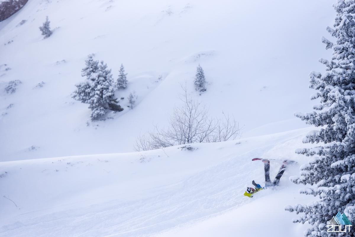 Poeder Sneeuw oostenrijk Zout Fotografie