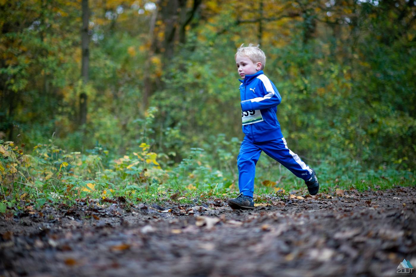 Kids trail Graef Castricum Trail foto Zout Fotografie
