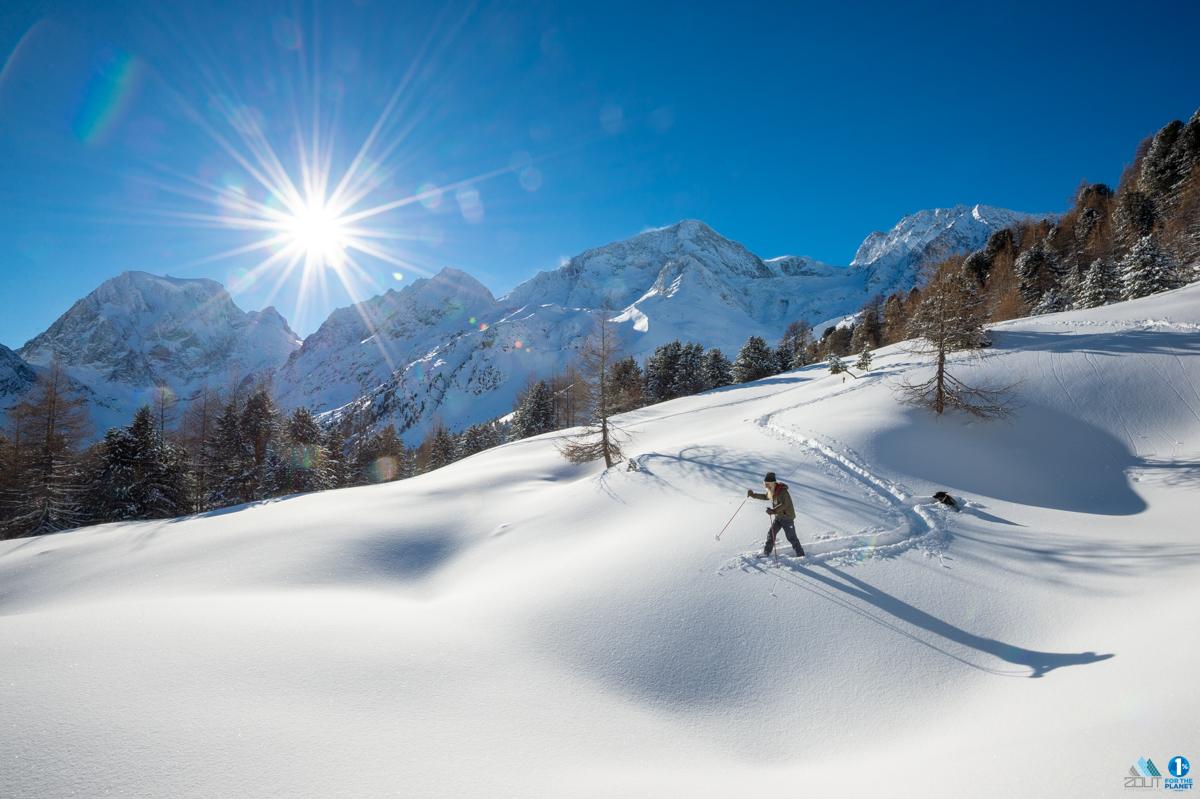 Sneeuwschoenwandelen Werner Munter Lawine