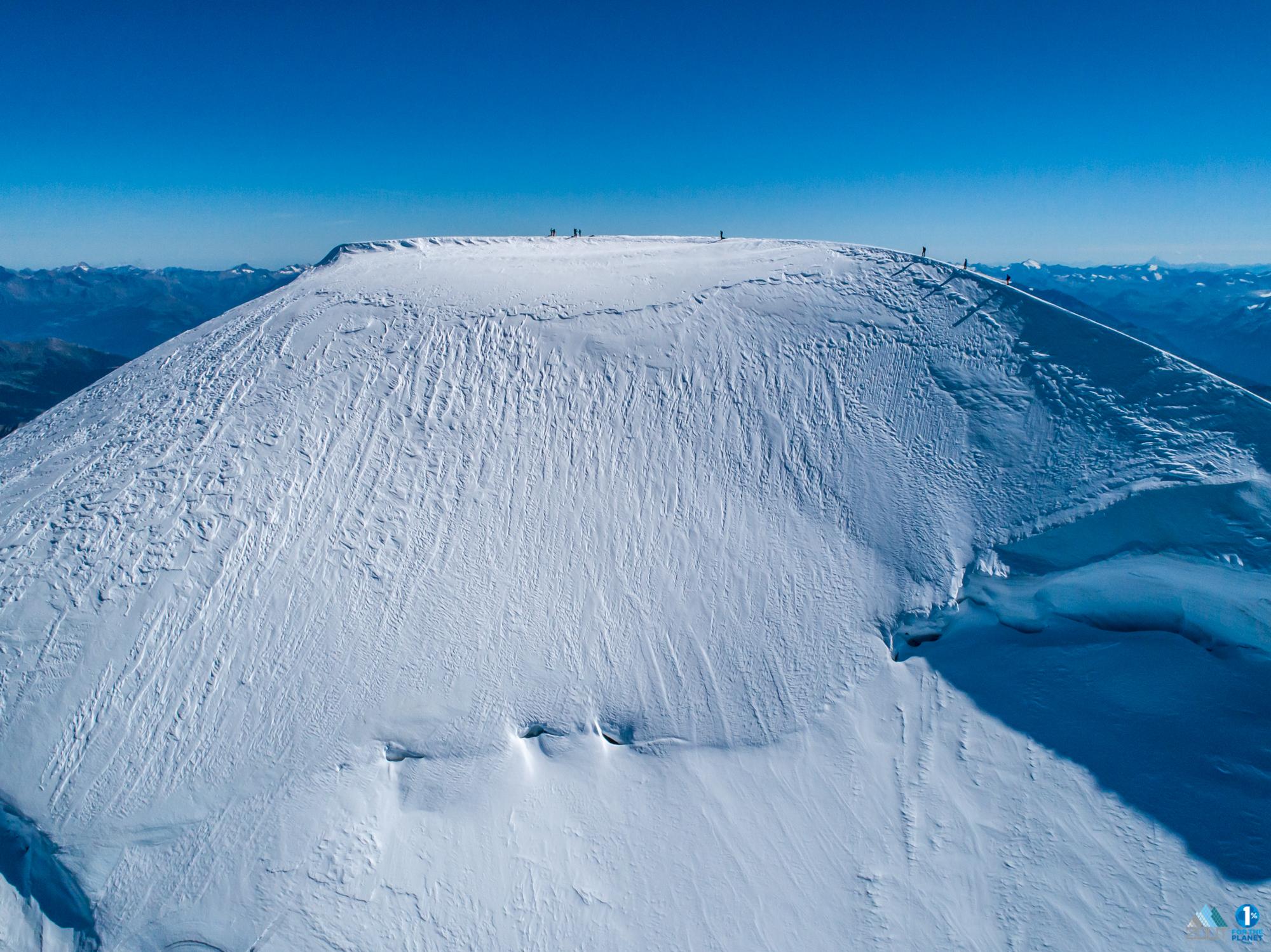 Summit Mt Blanc