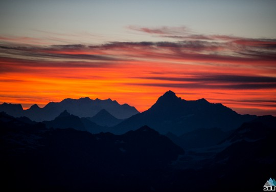 Sunrise - Franse Alpen Rein Rijke Zout Fotografie
