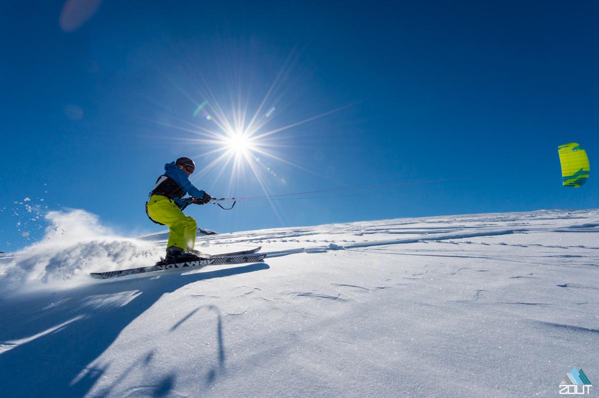 Snowkiten Noorwegen Zoutfotografie