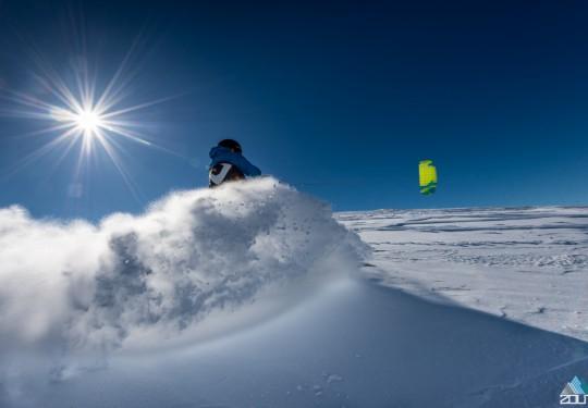 Snowkiten Hardangervidda - Zout Fotografie Rein Rijke
