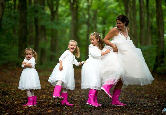 Bruidsmeisjes trouwen