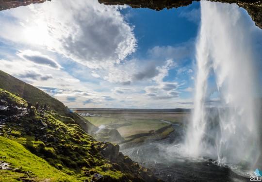 Seljalandsfoss IJsland  Zout Fotografie