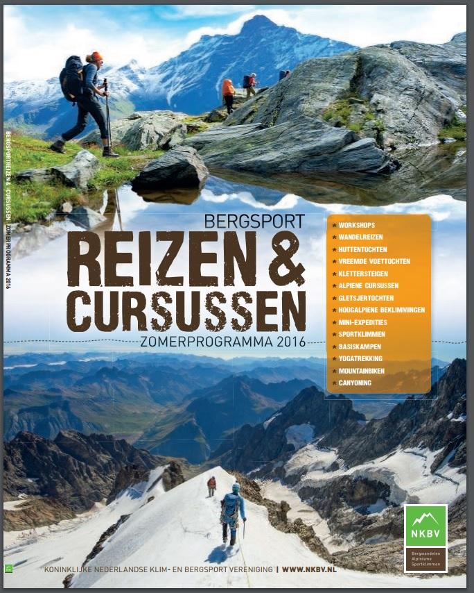 Coverfoto NKBV Bergsport Magazine