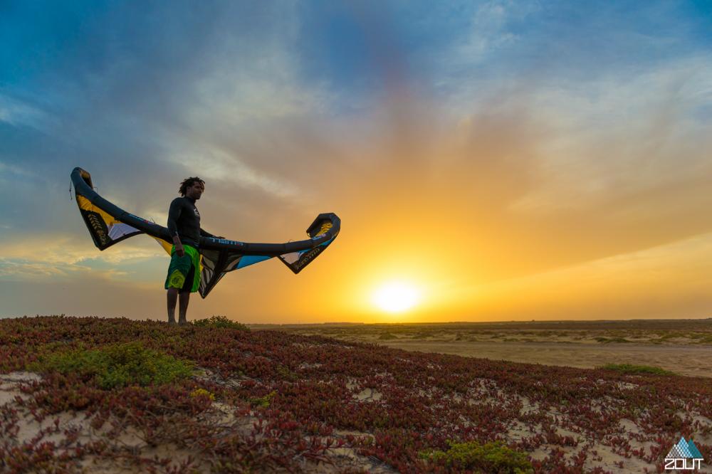 Kitesurfing Cabo Verde