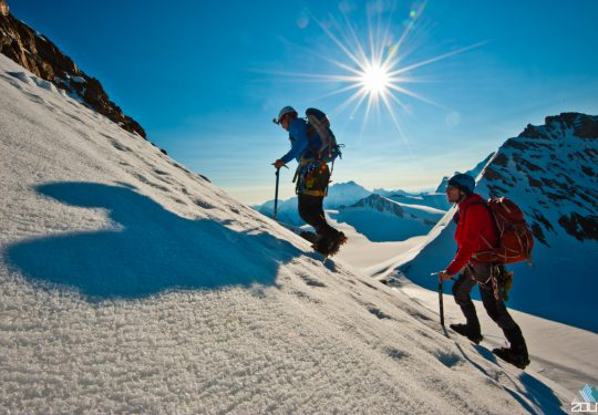 Beklimming van de Mönch (4107m) Zwitserland