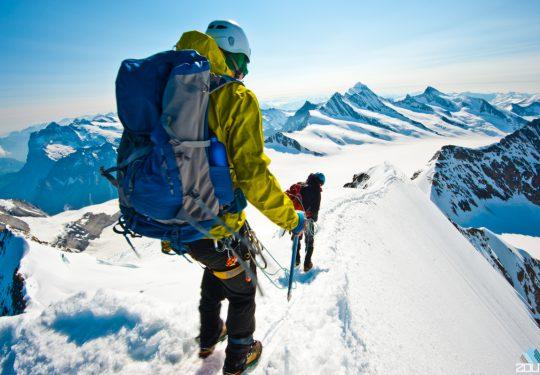 Alpiene afdaling