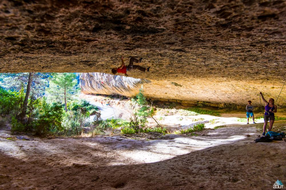 Margalef climbing Zout Fotografie Rein Rijke