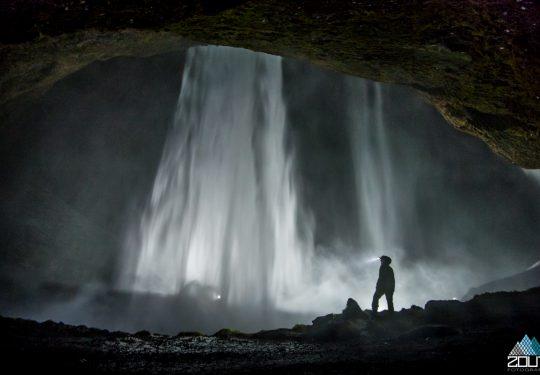 Waterval IJsland met Lindy Prins