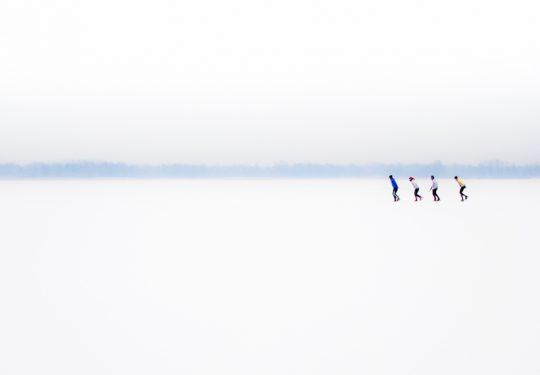 Schaatsen Giethoorn Winter Sneeuw