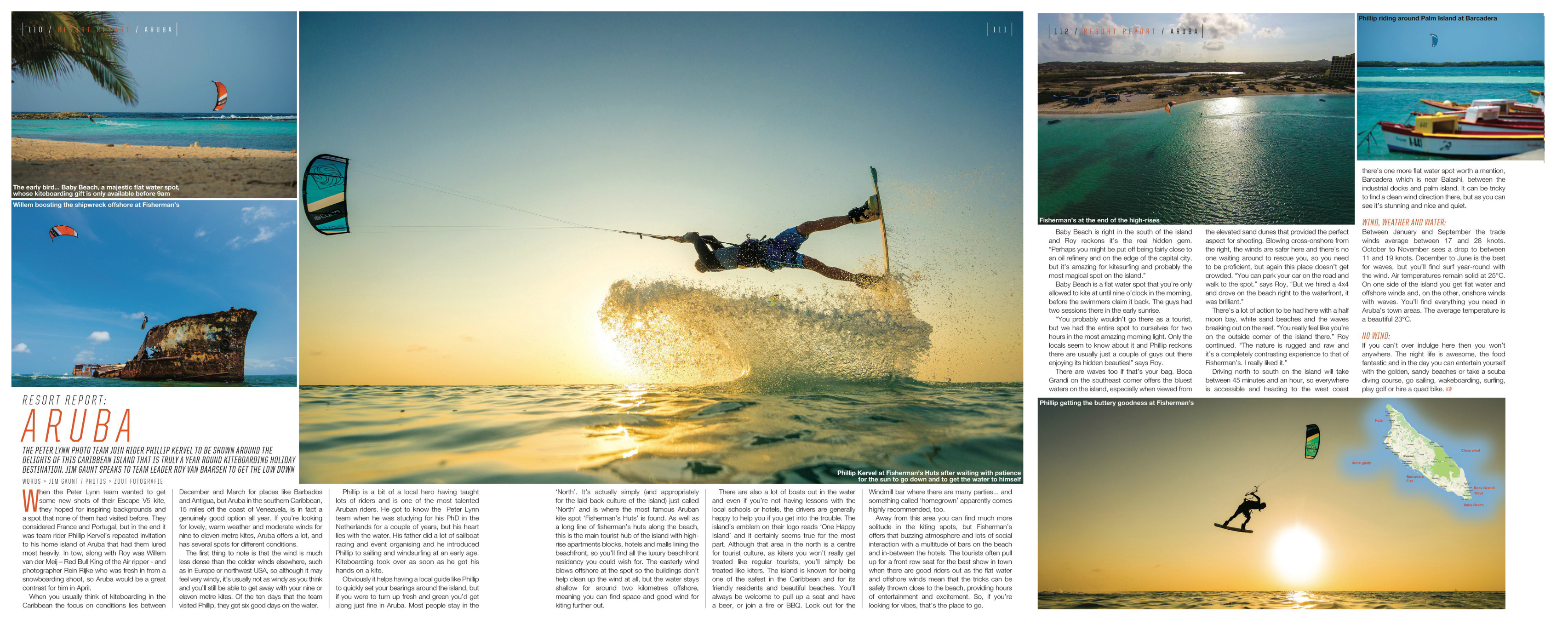 Kite World Magazine Zout Fotografie