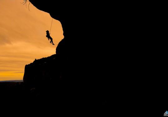 Climbing Margalef