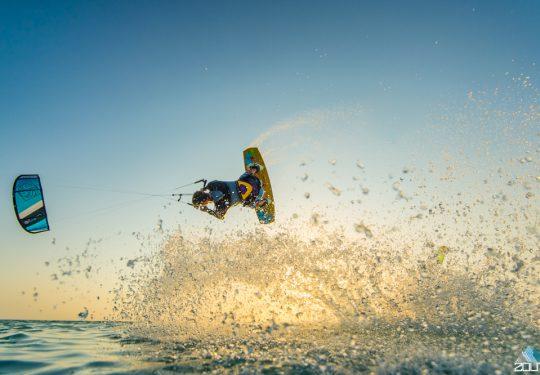 Kitesurfing Aruba Rein Rijke Zout Fotografie
