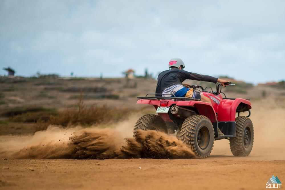 Quad Driving Aruba 4x4