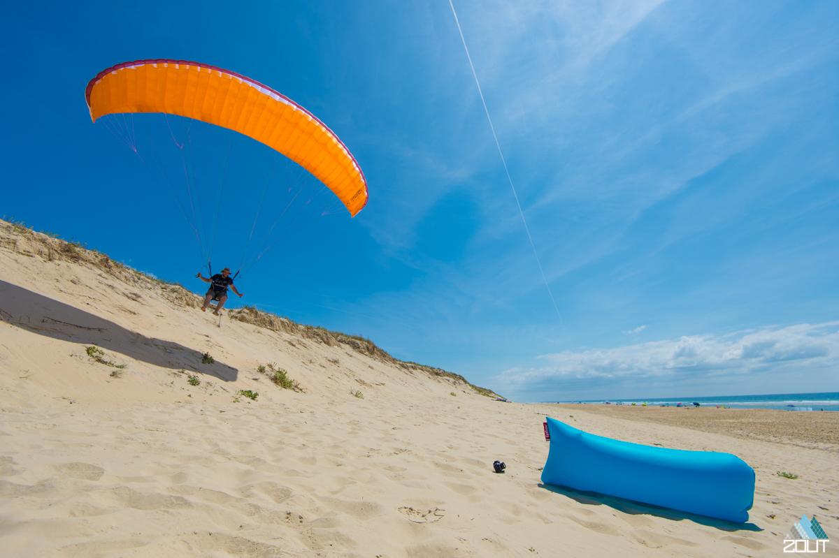 Lamzac Fatboy paragliding