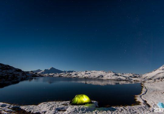 Winterkamperen in tent
