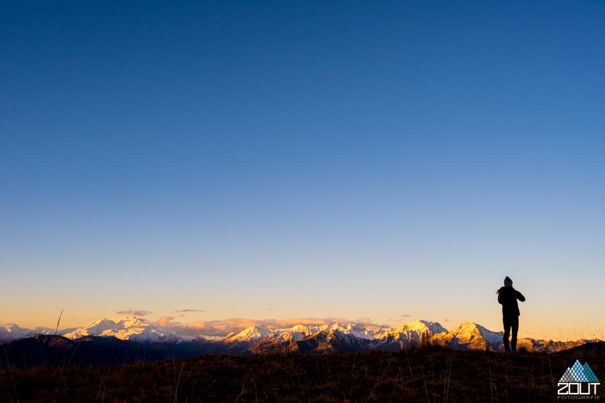 bergen bergsport zonsopkomst