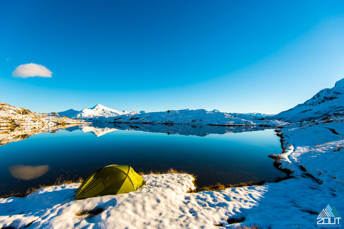 Lac Blanc Vanoise national park Dent Parrachée