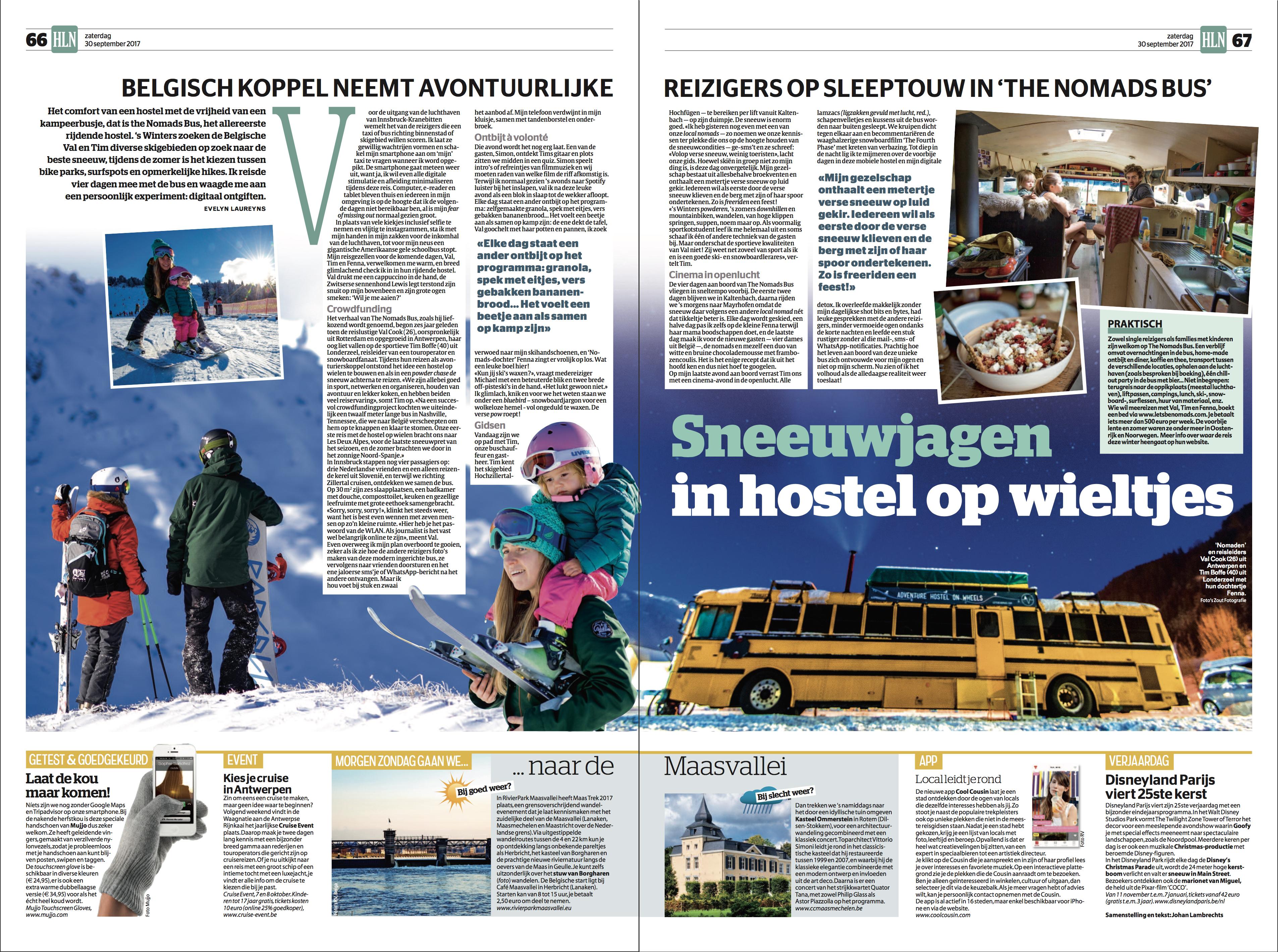 Het Laatste Nieuws - Nomads Bus