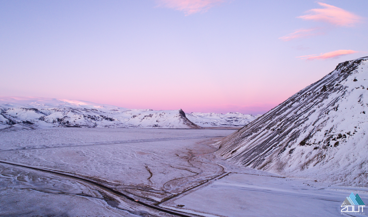 Zonsondergang IJsland Zout Fotografie