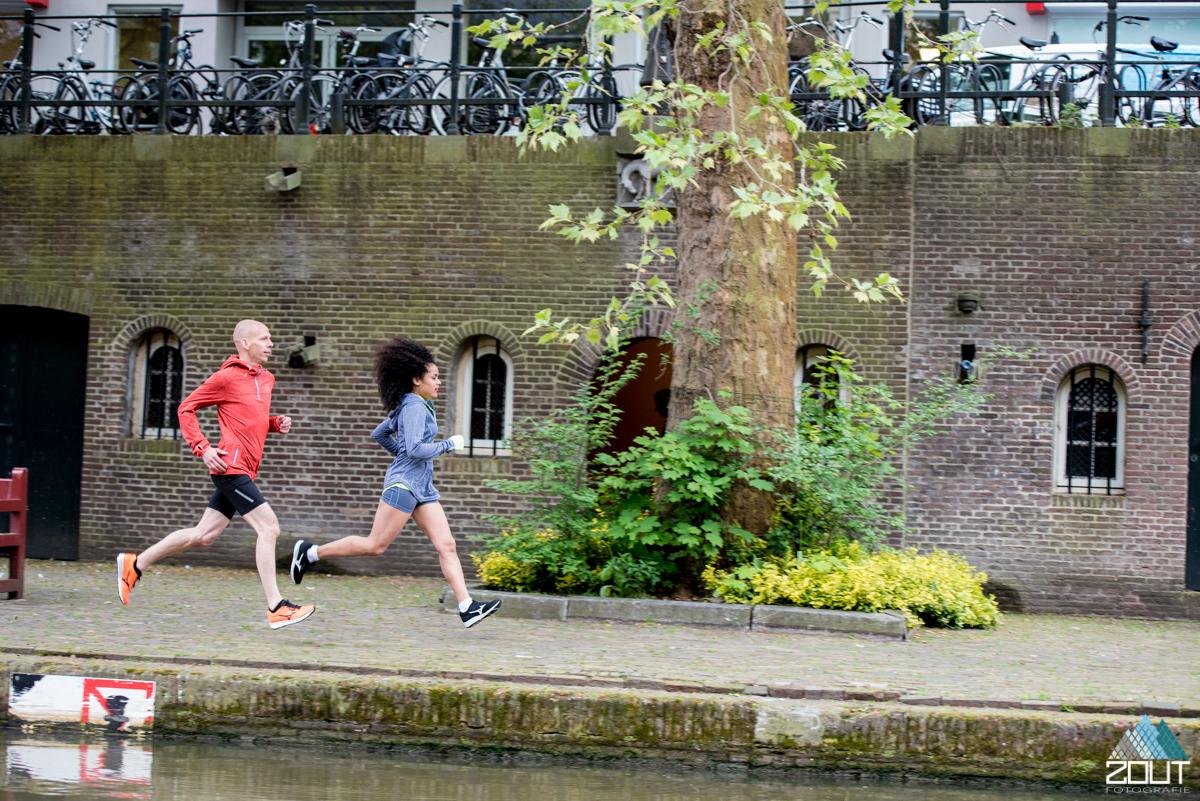 Hardlopen grachten Utrecht Zout Fotografie