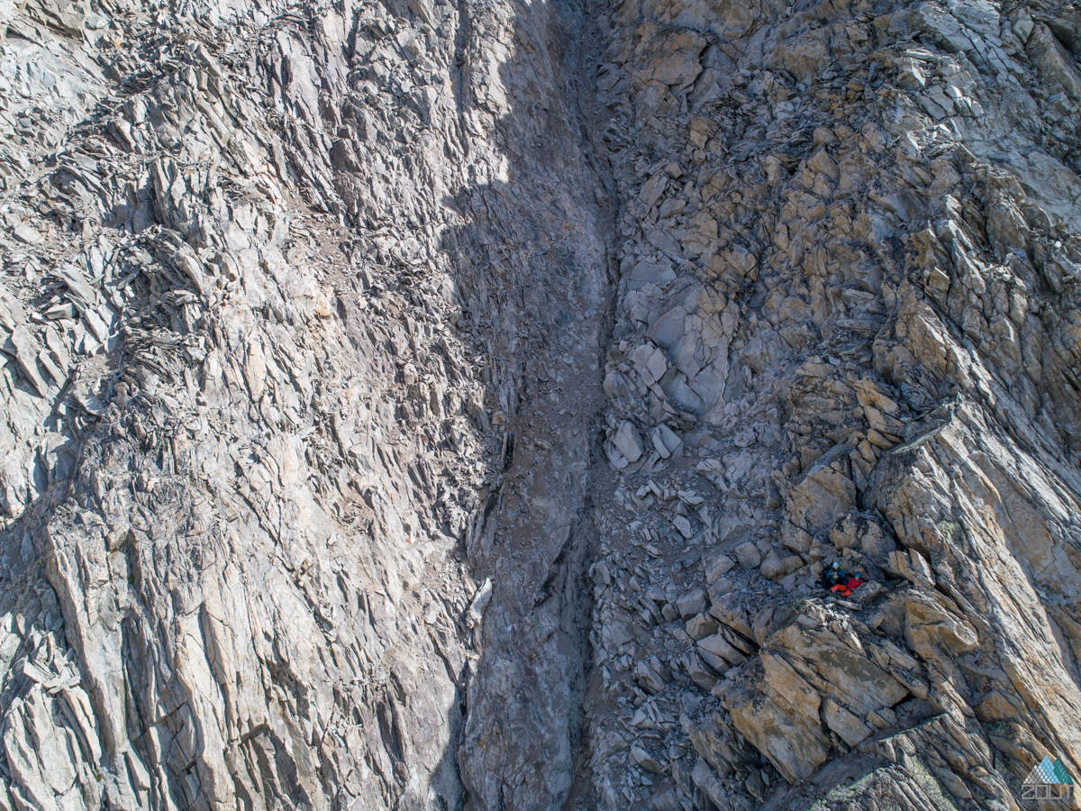 Gross Fusshorn beklommen