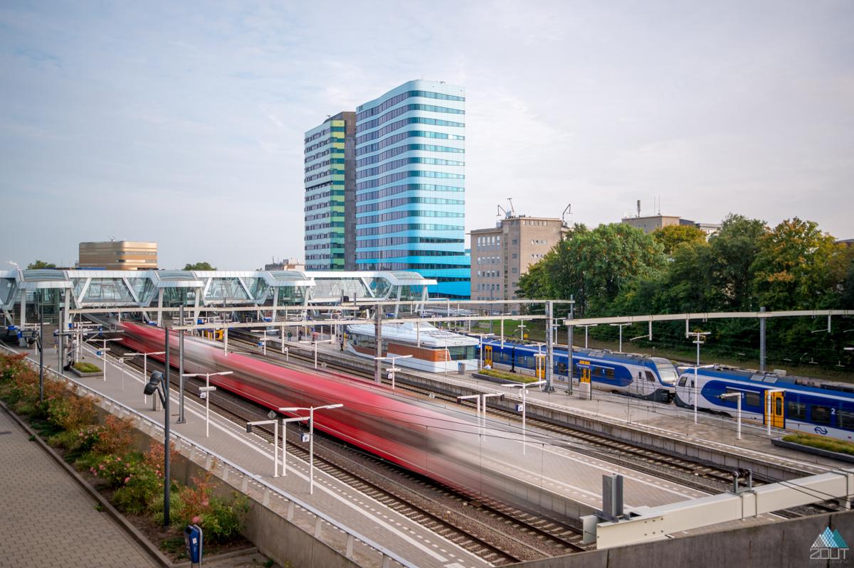 Arnhem Centraal NS WTC Rijntoren Arnhem Zout Fotografie