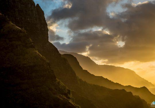 Hawaii Napali coast trail