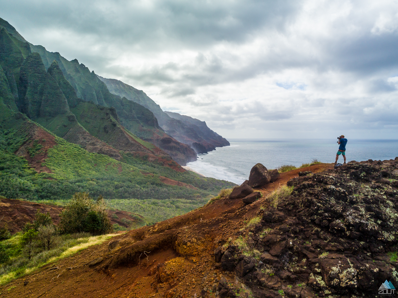 Na Pali Coast Wilderness State Park -Kalalau Trail