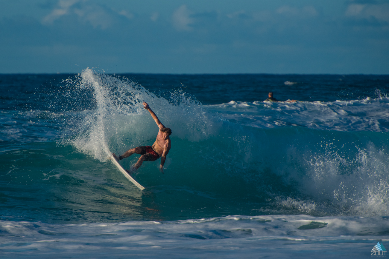 surfing Hawaii Zout Fotografie