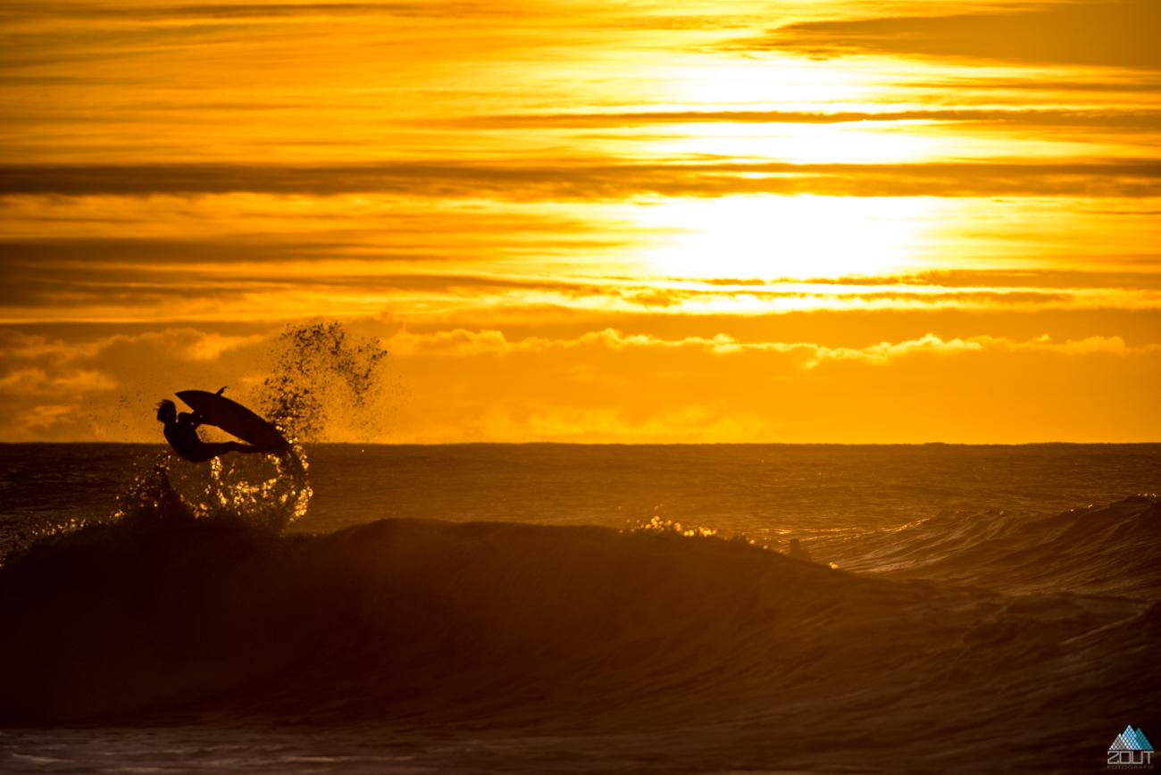 surfing Hawaii Zout Fotografie