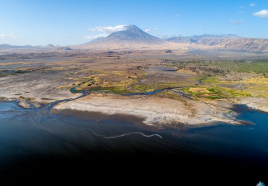 The Last Line; Kitesurfing Lake Natron Tanzania Rein Rijke
