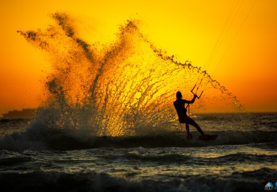 Splash Cape Town Kitesurfen