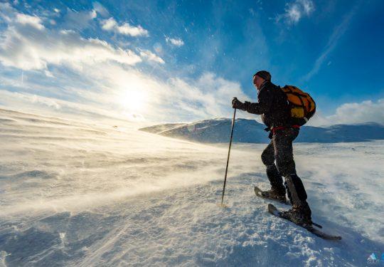 sneeuwschoenwandelen Jotunheimen Noorwegen