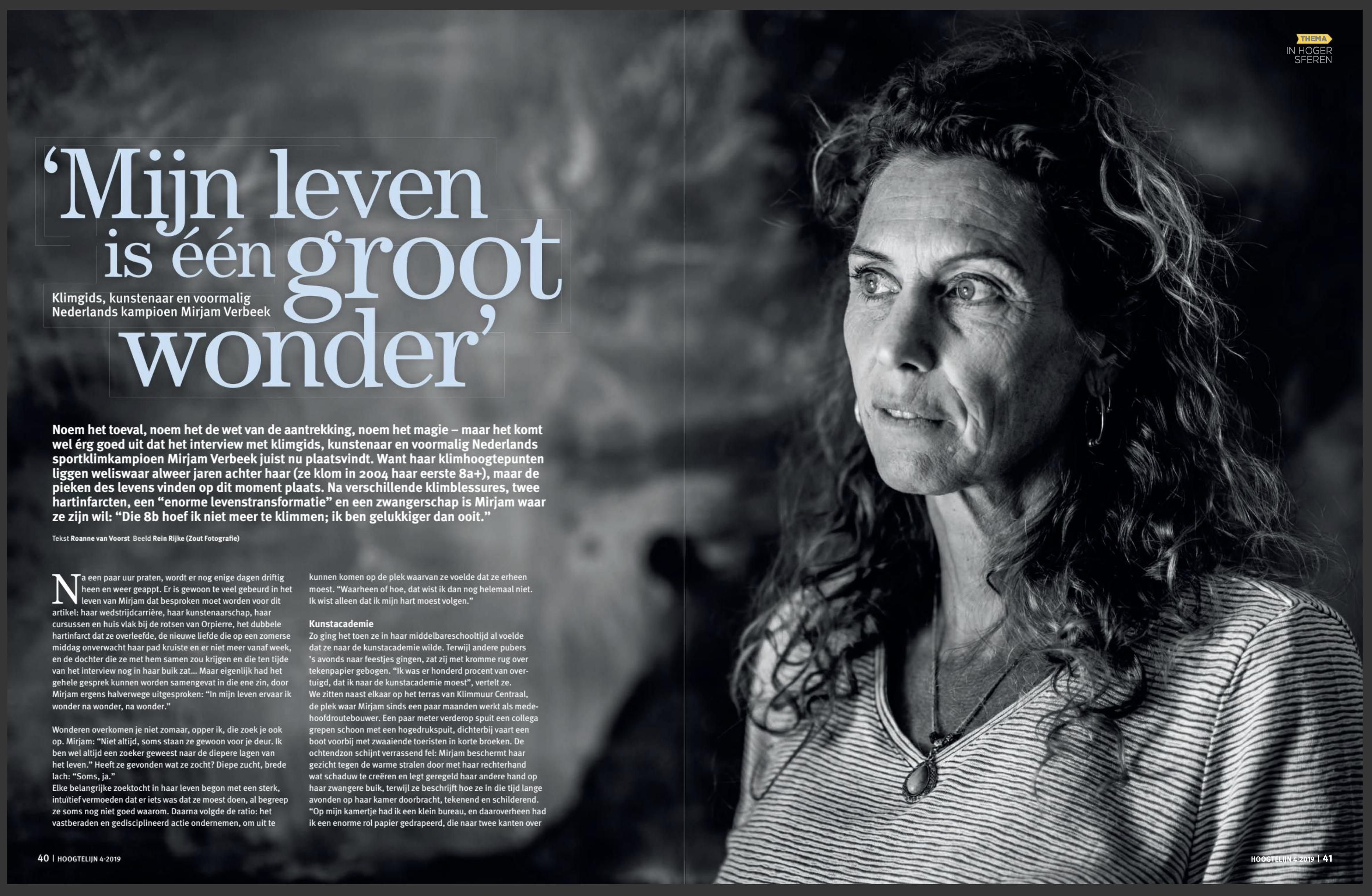 Portret fotografie Mirjam Verbeek