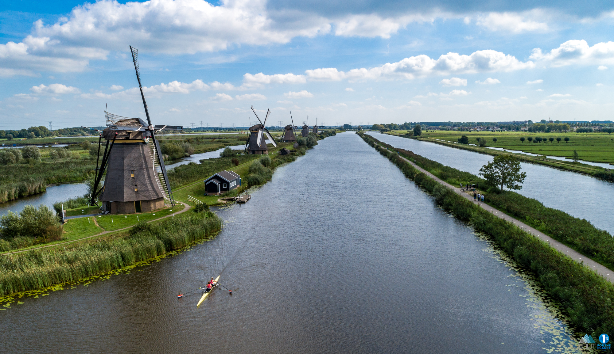 Lisa Goossens Roeien kinderdijk watersport fotografie