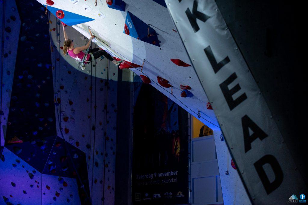 NK Lead klimmen nederlands kampioen LYNN VAN DER MEER