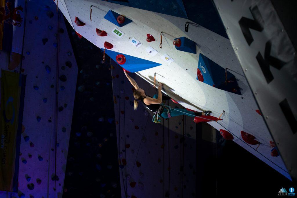 Tiba Vroom NK Lead klimmen Nederlands kampioenschappen