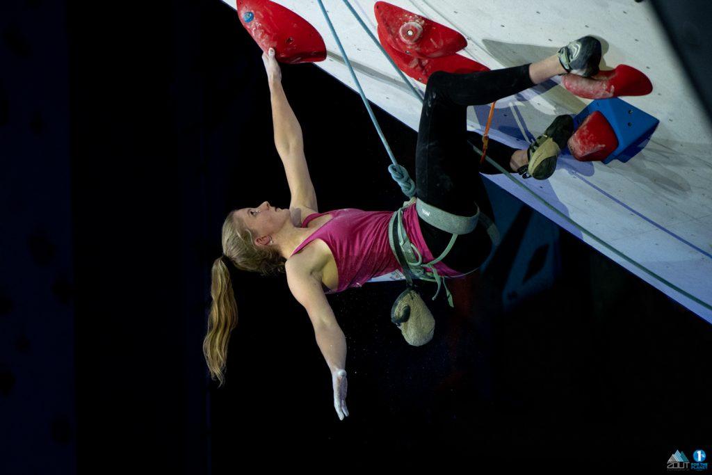 fotograaf NK Lead klimmen nederlands kampioen LYNN VAN DER MEER