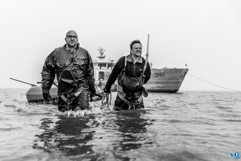 Lenger Seafoods Visserij fotografie zeevissen kokkelvisserij