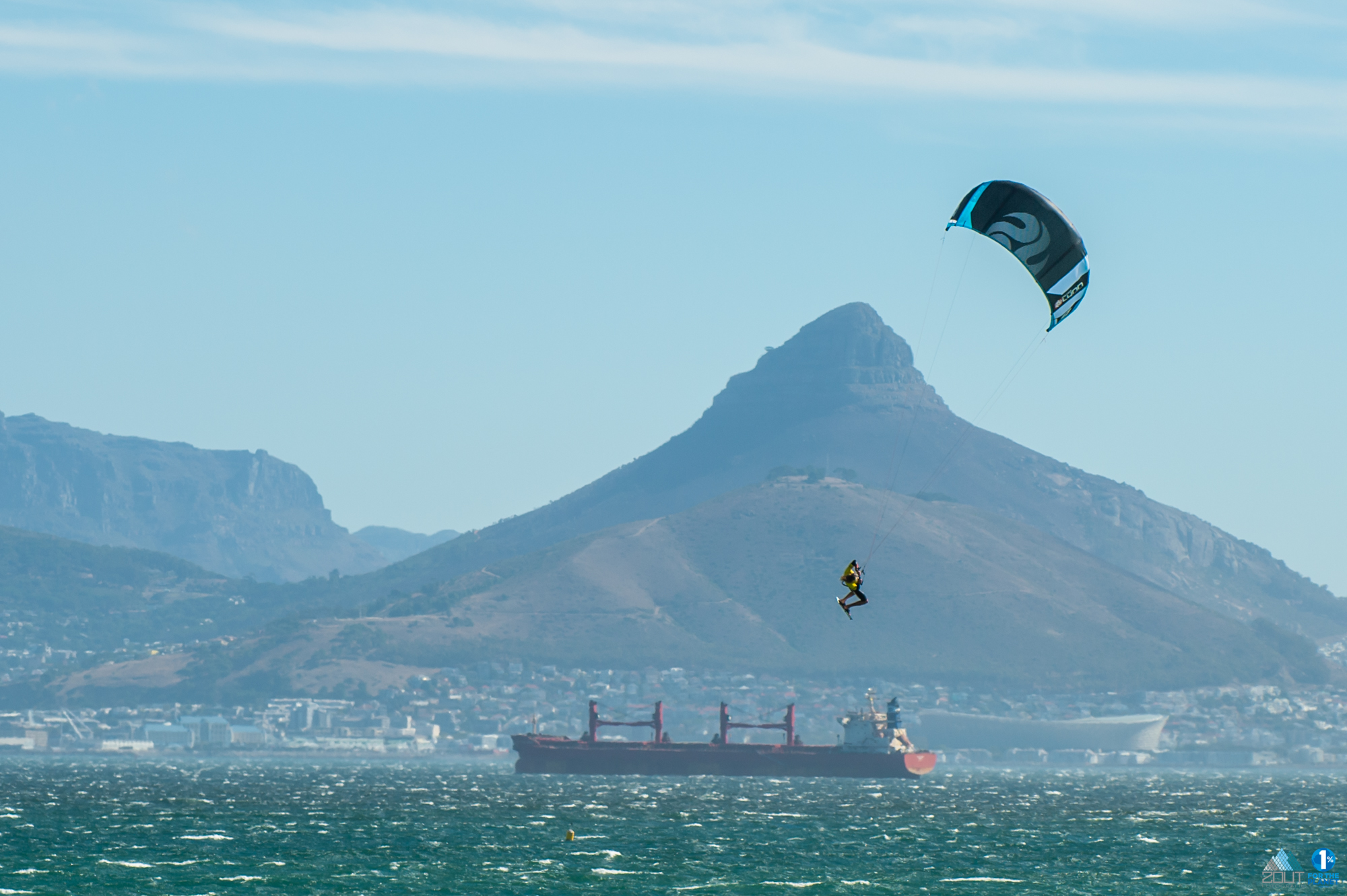 Redbull King of the Air kitesurfing Cape Town