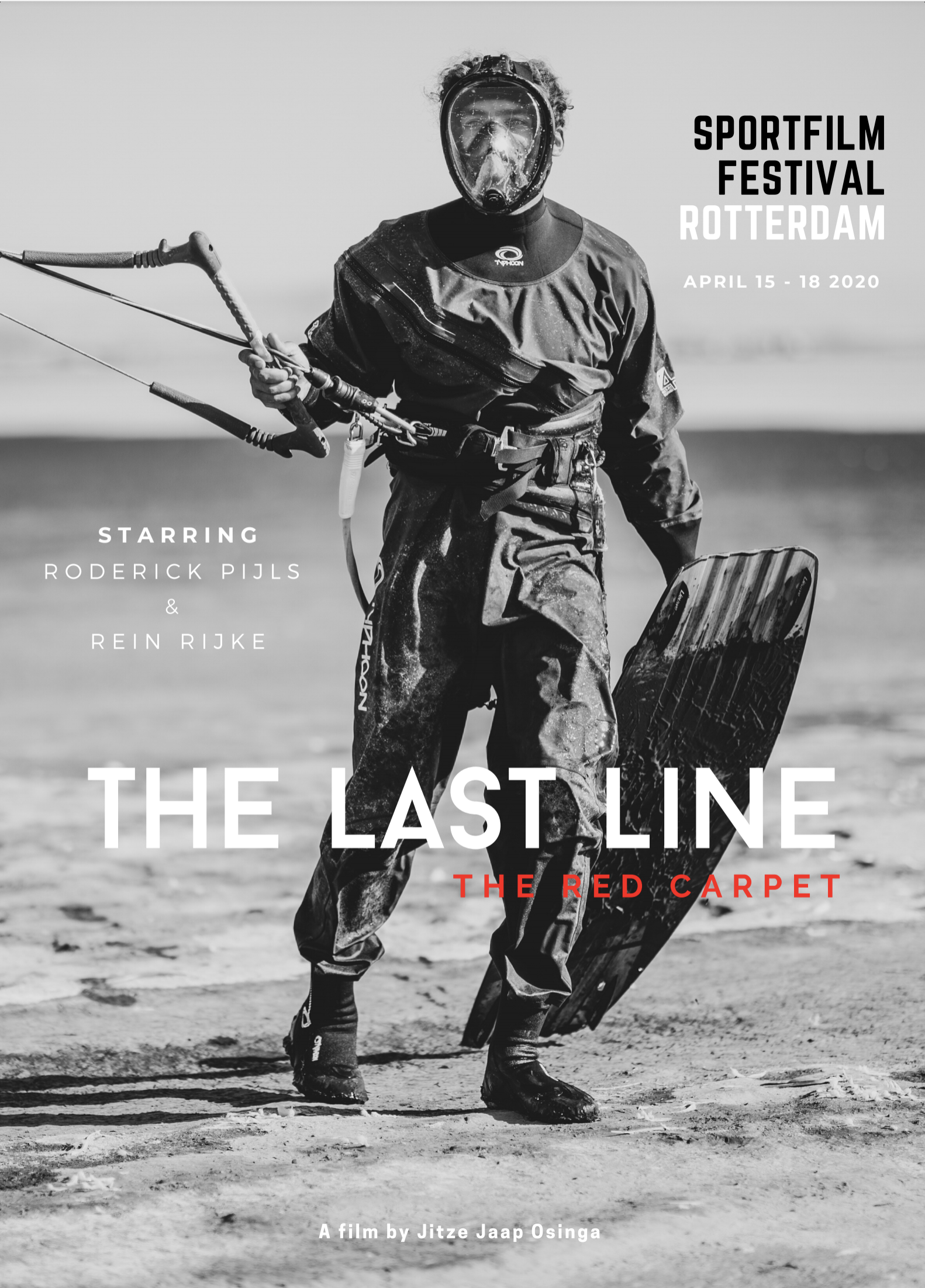Film The Last Line Red Carpet Tanzania kitesurf lake natron