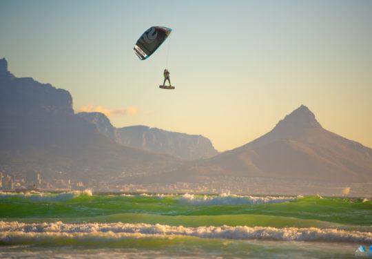 Roderick Pijls Kiteloop Kaapstad Kitesurfing