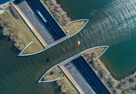 Kitesurfing Aquaduct Harderwijk