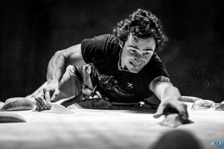 foto Adam Ondra Hoogtelijn NKBV 2020 sportklimmen